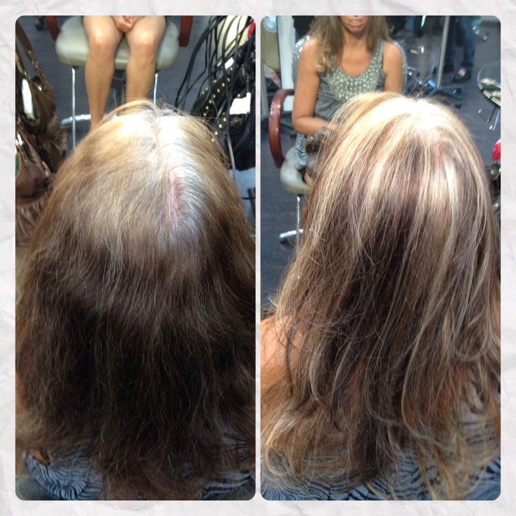 Blending Grey Hair Naturally