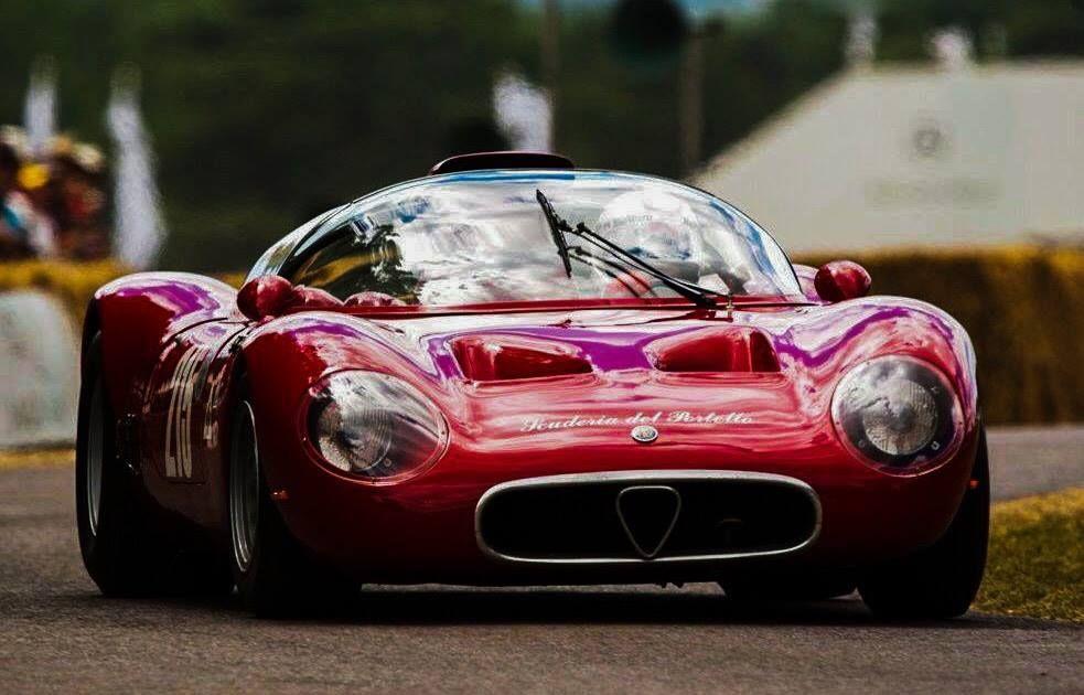 Alfa Romeo Tipo 33 Periscopica Spyder Sports Racing Cars