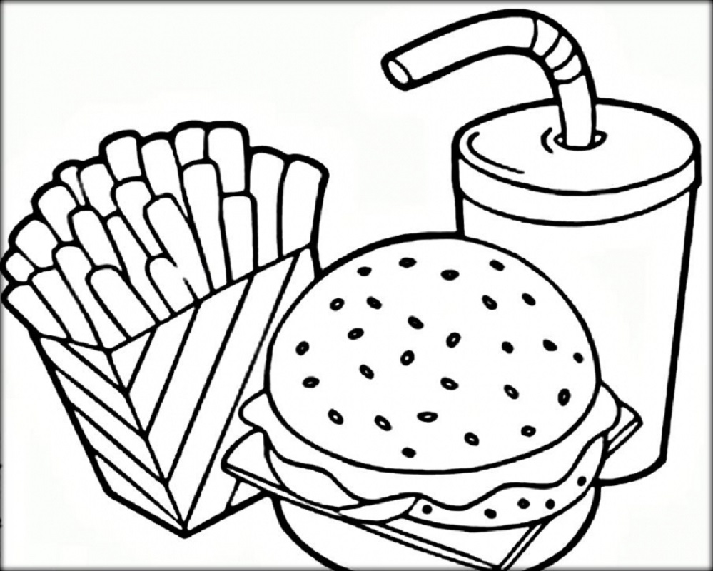 Mcdonalds Coloring Pages Free Download Educative Printable Food Coloring Pages Pizza Coloring Page Free Coloring Pages