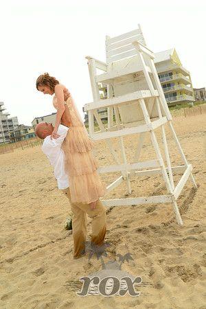 Ocean City Md Beach Wedding Ceremony By Rox Weddings Http