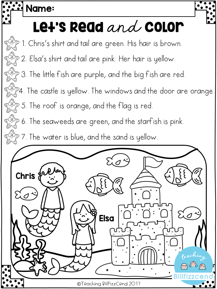 FREE Reading Comprehension Activities Reading