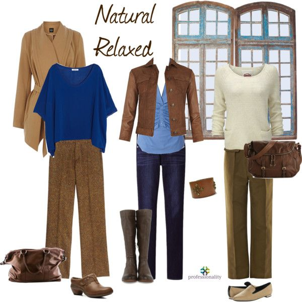"""""""Natural/Relaxed at Work"""" by professionality on Polyvore"""