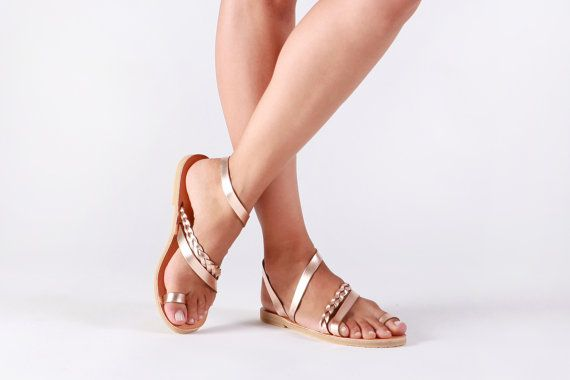 6229211099737 Greek leather sandals that are simple and unique! This ultra comfortable  pair of sandals is designed to surround your feet. Curves and brades come  gently ...