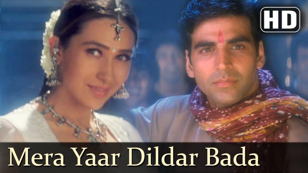 Mera Yaar Dildar Bada Sona Jaanwar Songs Akshay Kumar Karisma Kapo Bollywood Music Songs 1999 Songs