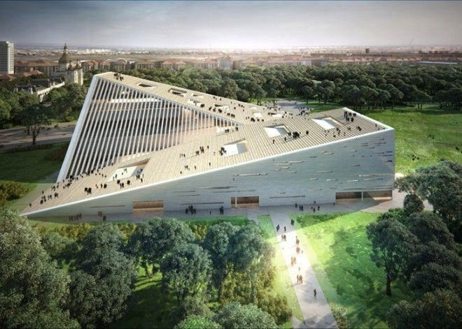 and SANAA win the competition National Gallery of Budapest  Ludwig Museum Snøhetta and SANAA win the competition National Gallery of Budapest  Ludwig Museum Sn&osl...
