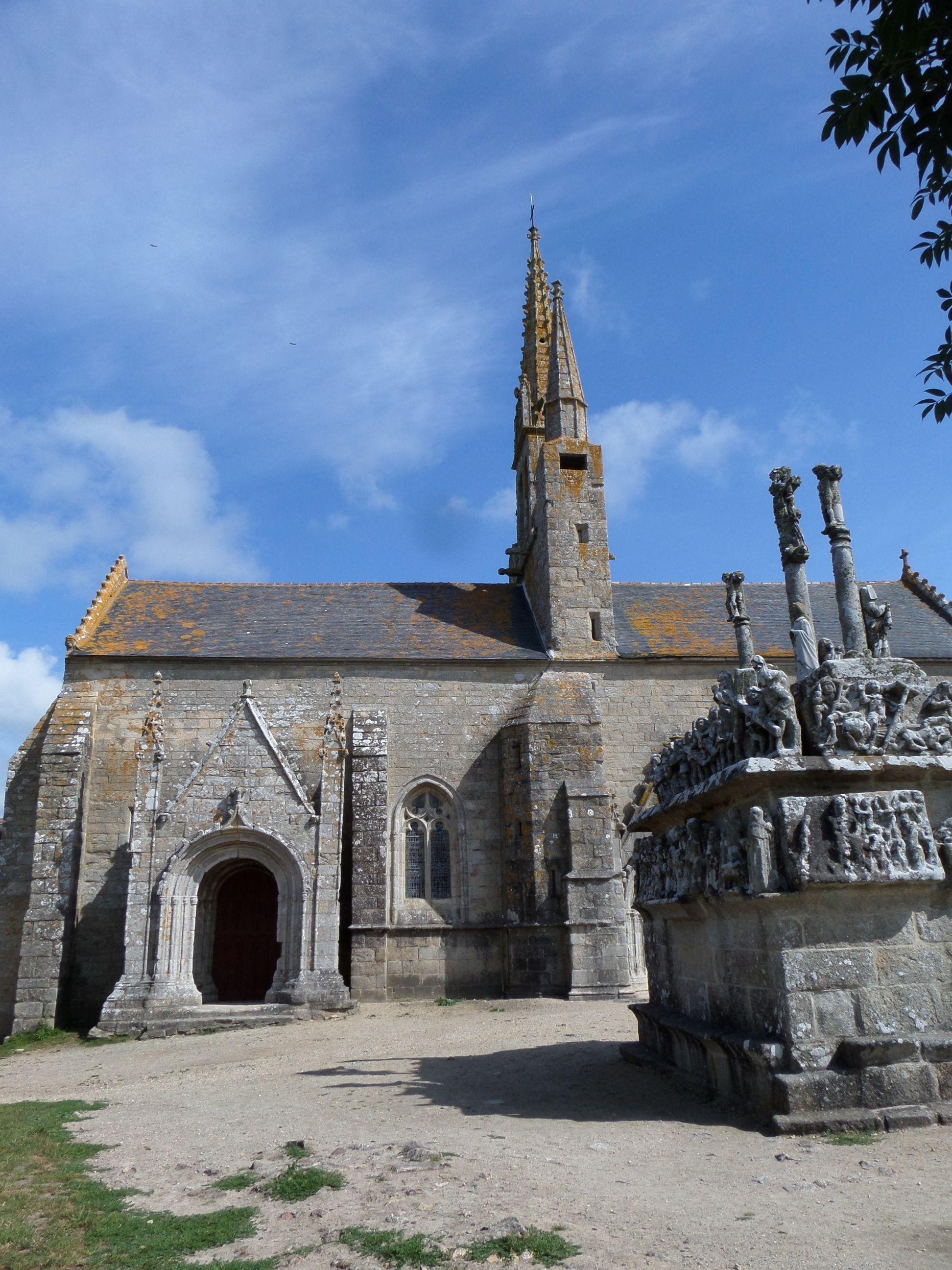 Chapelle de Notre dame de Trono n bij Pont l Abbé in Bretagne