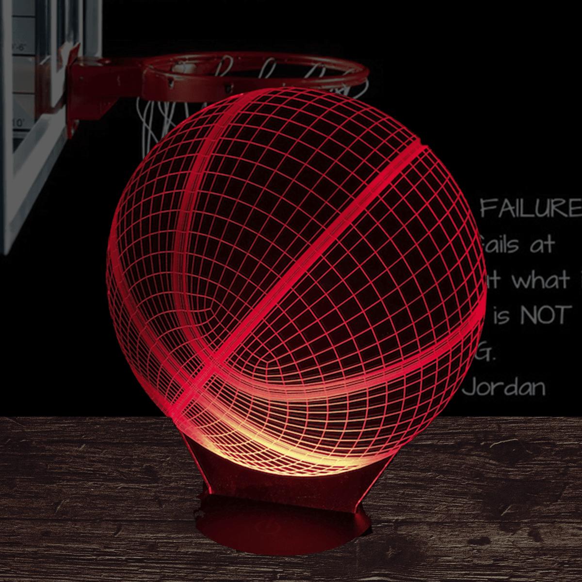 Basketball 3d Illusion Led Lamp 3d Led Light 3d Led Lamp Led Lamp