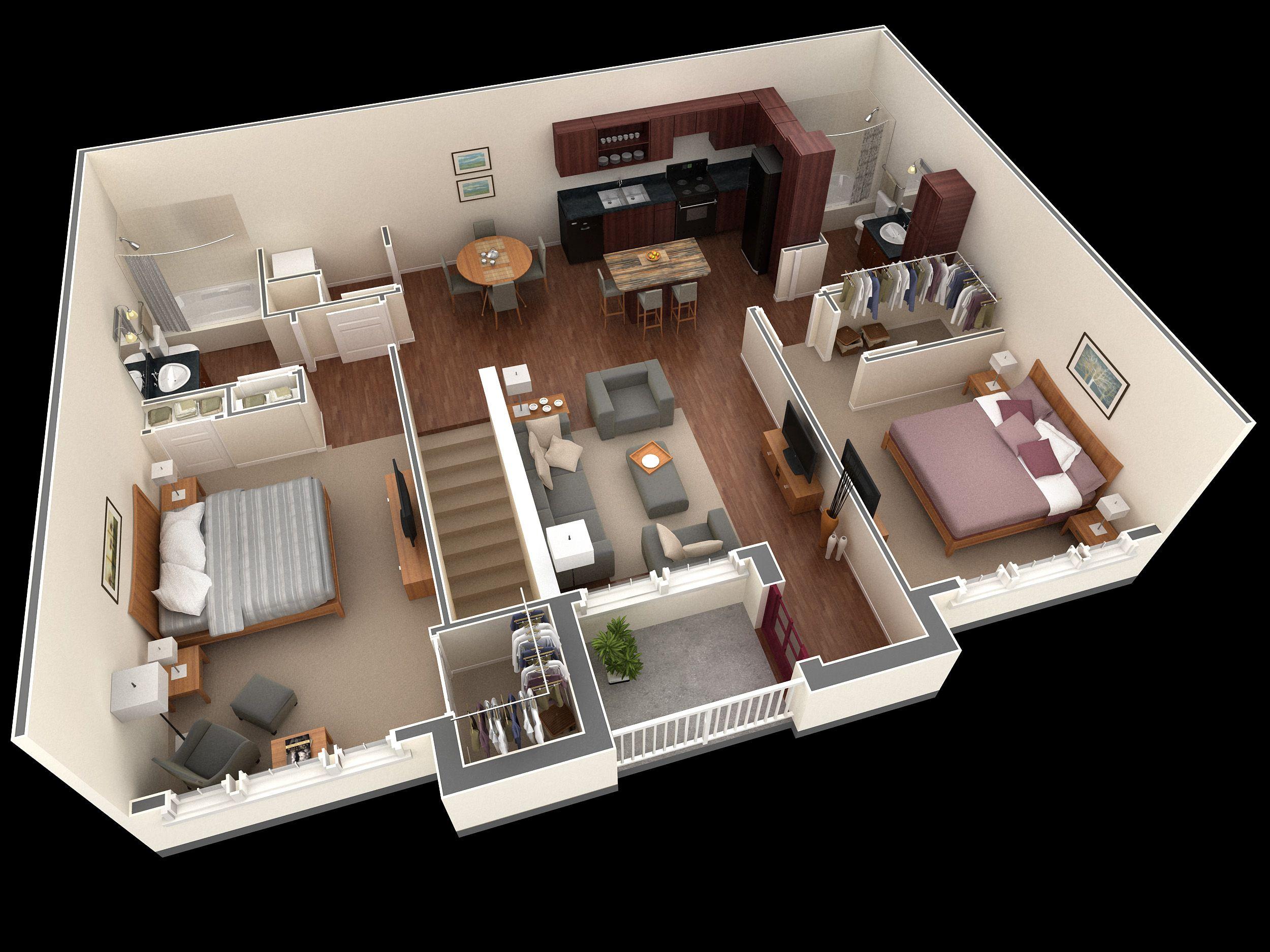 Springs At Greenville New Apartments In Greenville Sc Planos De Construccion De Vivienda Planos De Apartamentos Planos Casa Dos Dormitorios