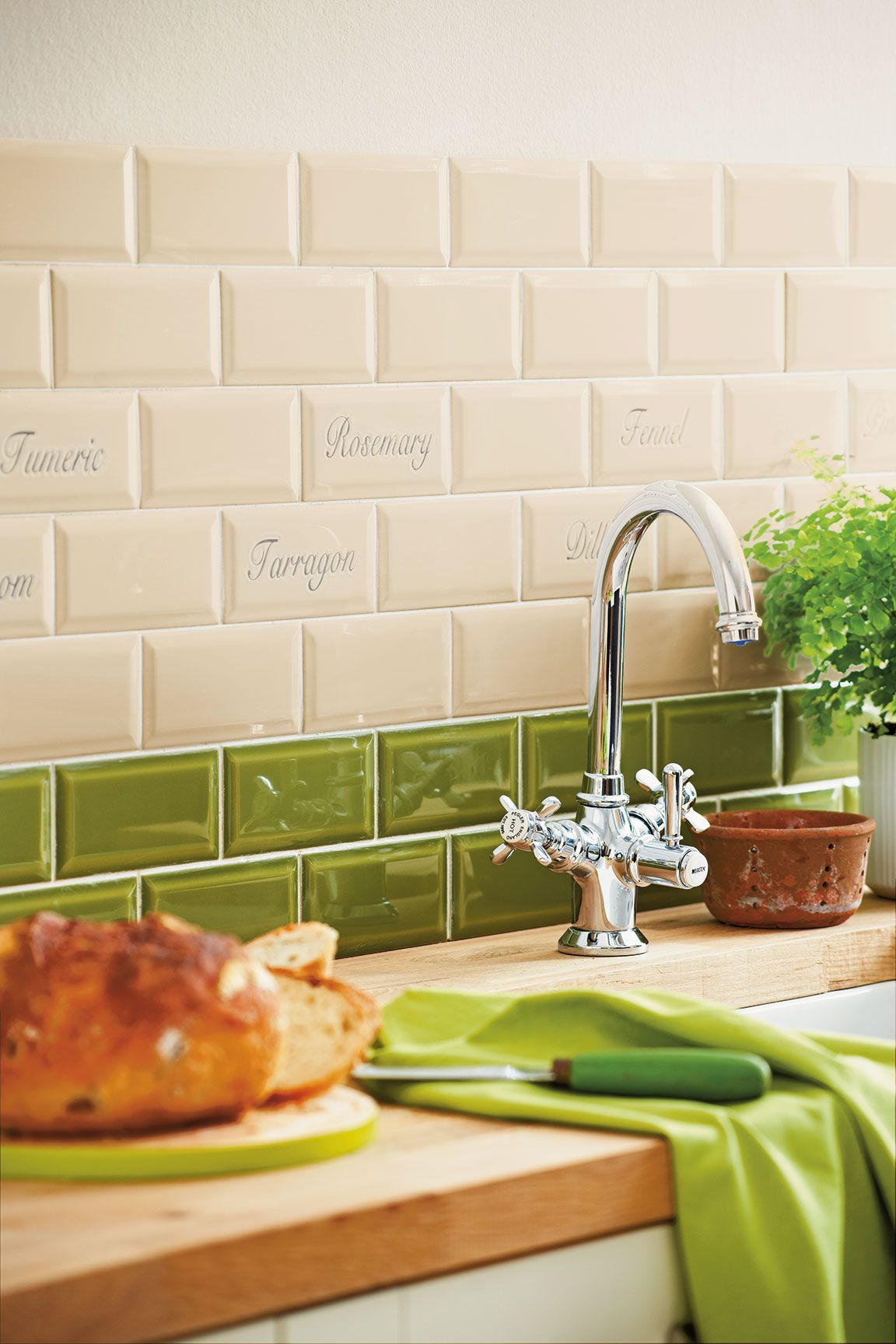Pin By Jessica Britton On Kitchen Pantry Green Kitchen Backsplash Green Kitchen Walls Green Kitchen