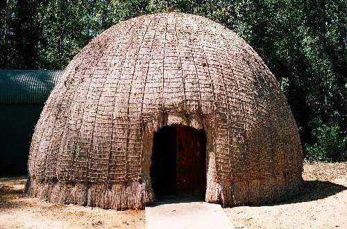 Swazi Hut Make Into A Tea Bag Holder Vernacular