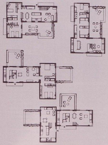 Montreal Habitat 39 67 Moshe Safdie Floor Plans