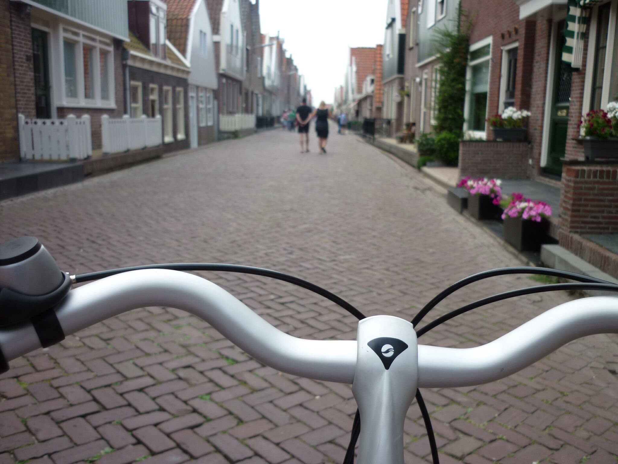 Bike at Marken Holland