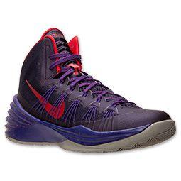 Men\u0027s Nike Hyperdunk 2013 Basketball Shoes | FinishLine.com | Purple/University  Red
