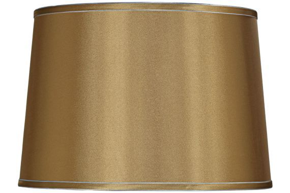 Sydnee Gold with Silver Trim 14x16x11 Drum Shade