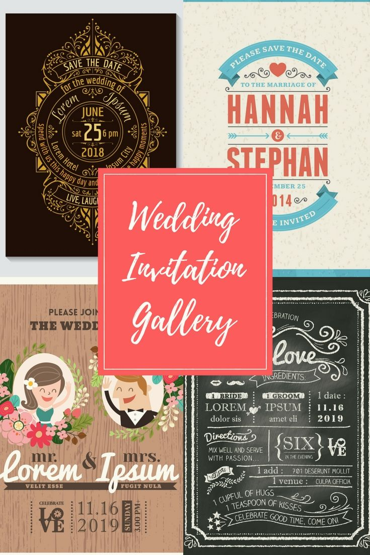 Free Wedding Invitation Cards Samples - Begin To Preparing For Your ...