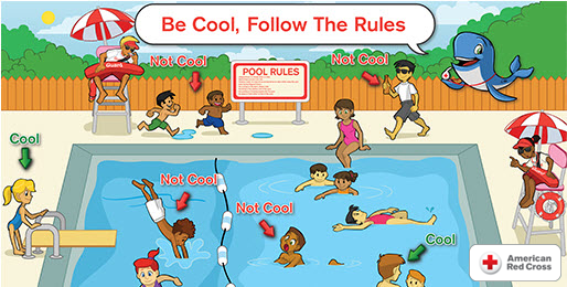 American Red Cross WHALE Tales Be Cool, Follow The