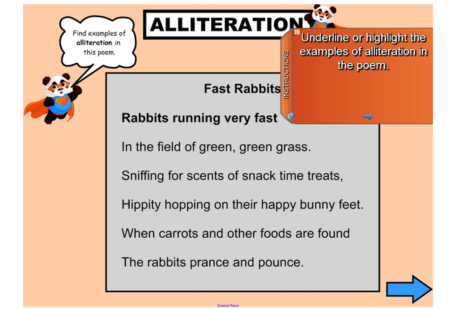 Have Some Fun With Alliteration With This Great Iwb Lesson