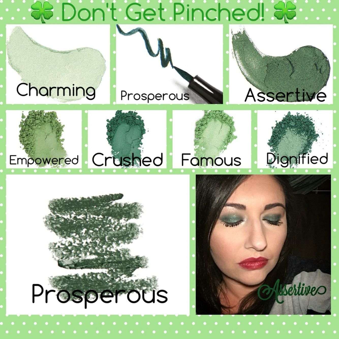 Green Makeup St Patrick s Day Younique More than makeup