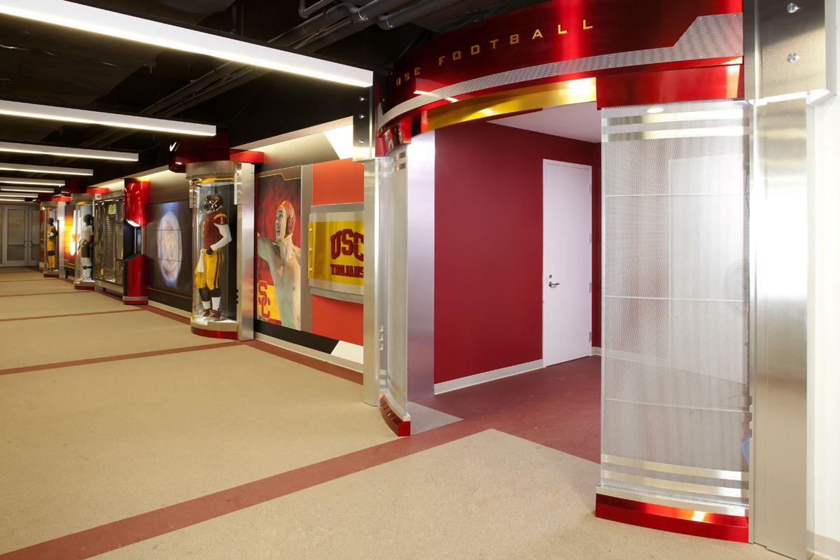 Nike Wall And Locker Room Entrance