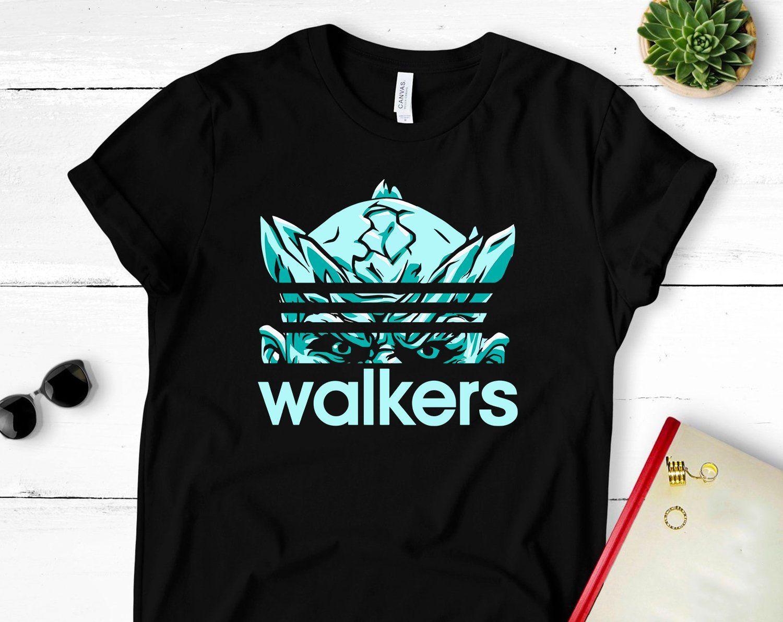 842fe8dbe Game Of Thrones Shirt, White Walker shirt, Night Watch Shirt, Funny Adidas  T Shirt, Night King Game Of Thrones T-Shirt, White Walker Costume