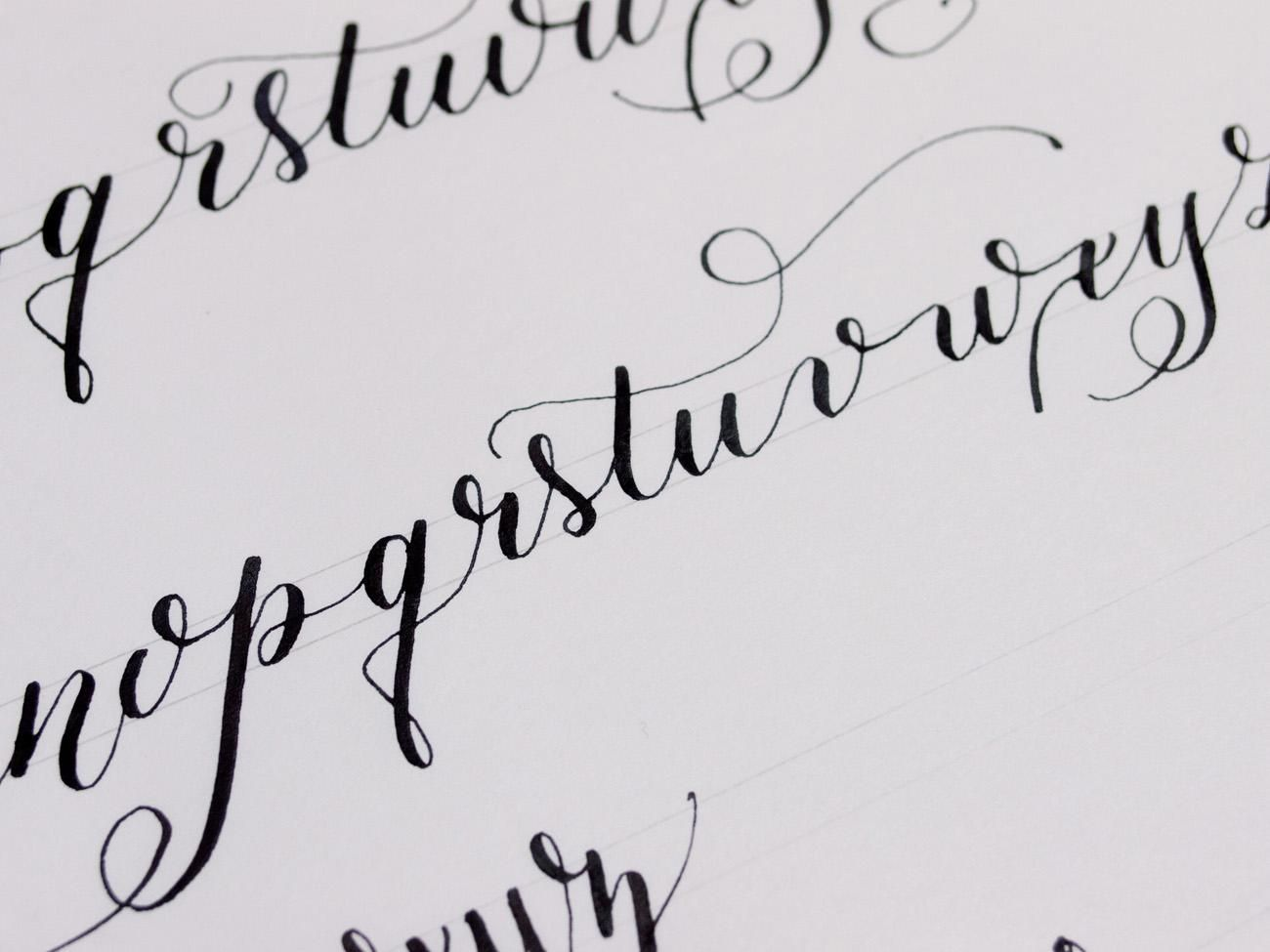 Calligraphy practice by maria agra skillshare goal to Where to learn calligraphy