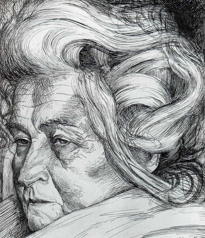 The Mother  Umberto Boccioni
