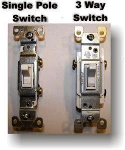 3 Way Switch  Wiring a switch and light Wiring A 3 Way Switch  Wiring a switch and light  Leviton 15 Amp SinglePole Toggle Framed 4Way AC Switch Ivory Leviton 20 Amp Indu...