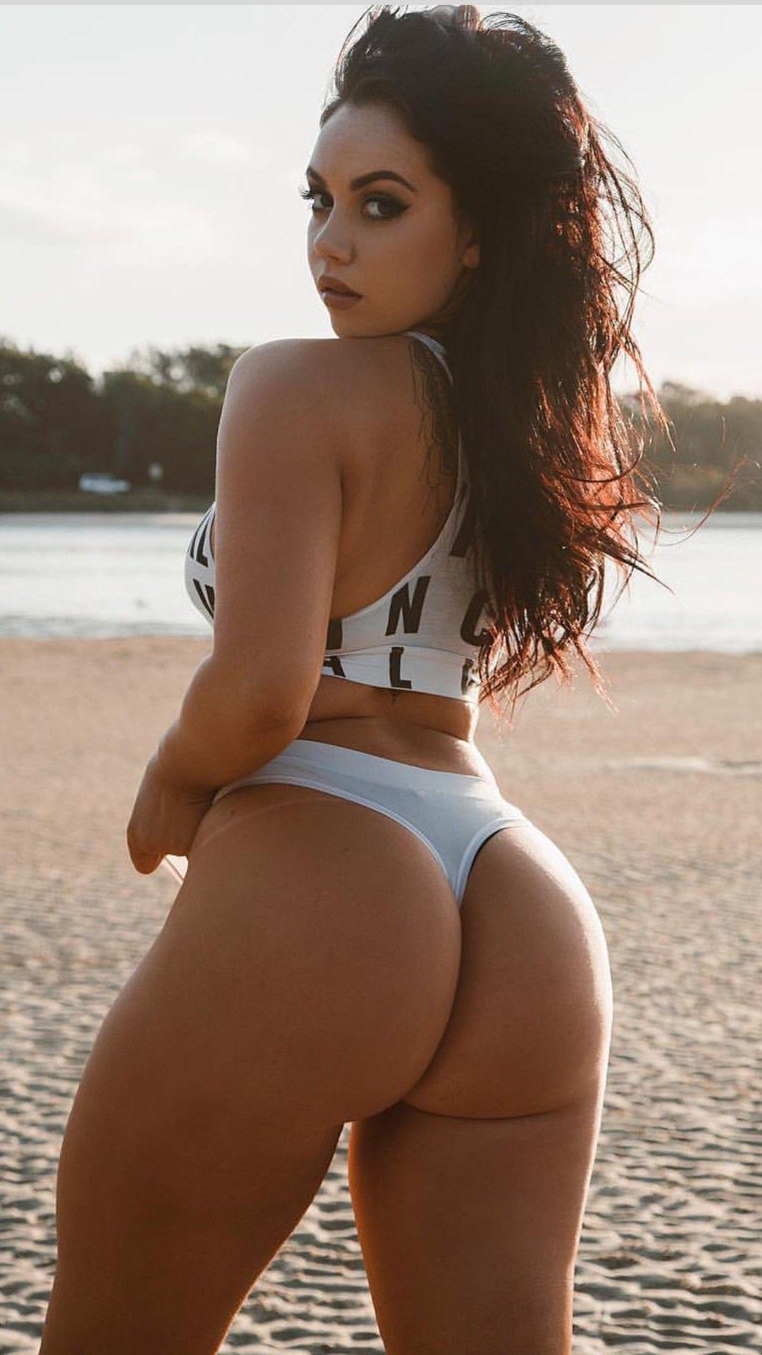 Big booty babes get slammed hard