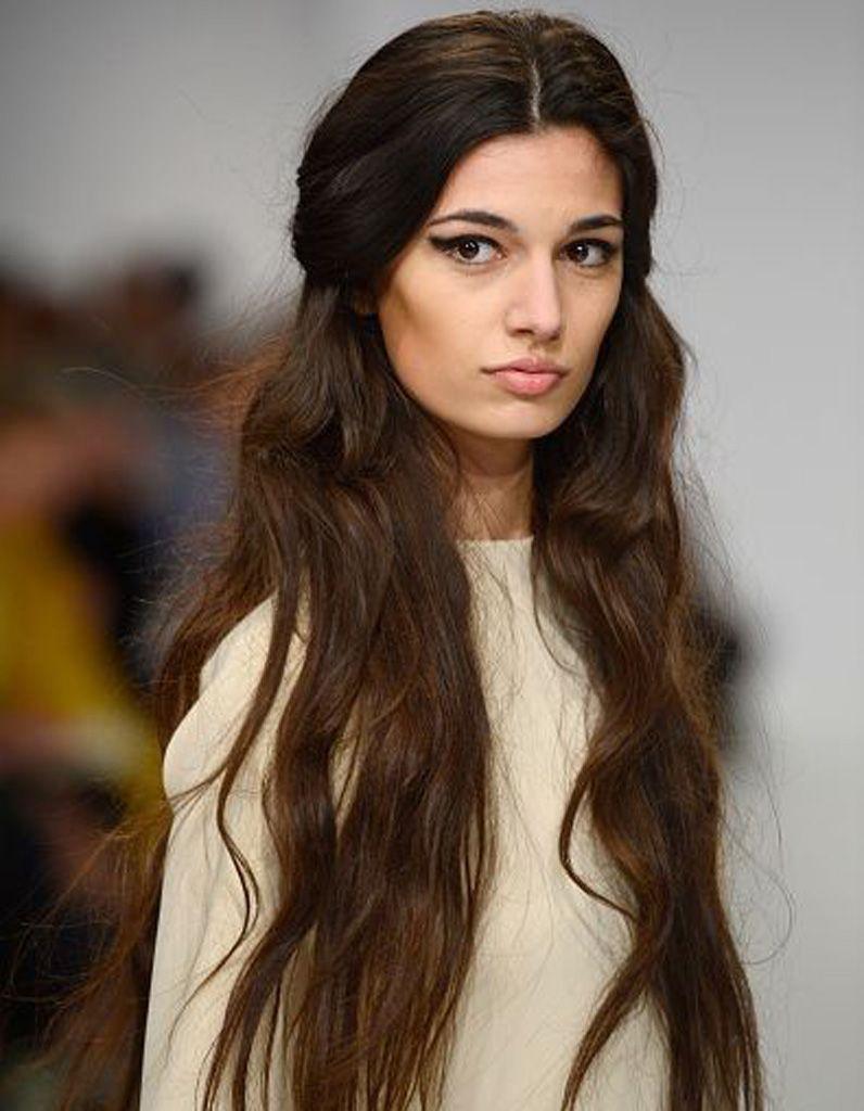Coupe De Cheveux Pour Soirée destiné coiffure cheveux longs ondulés hiver 2016 | cheveux | pinterest