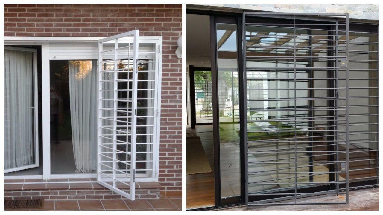 25 Modelos De Rejas Para Puertas Ventanas Window Grill Home Home Decor