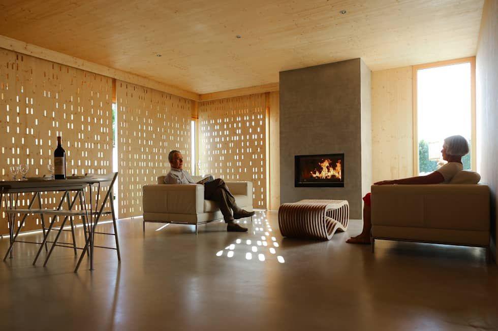Photos de salon de style de style moderne : salon logement 1_brise ...