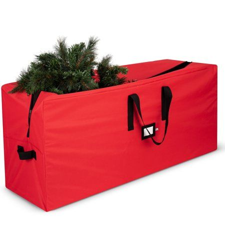 Christmas Tree Storage Bag Container Double Zipper Heavy Duty for Up to 9Ft Tree