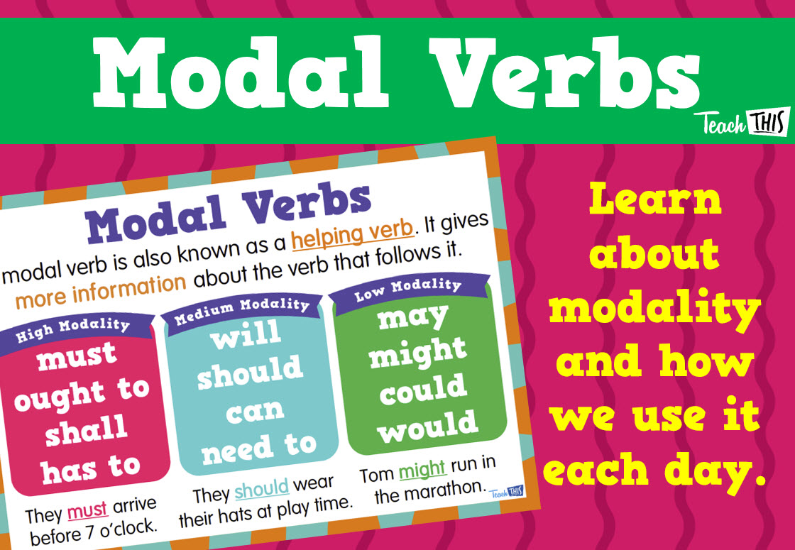 Modal verb need in English. Studying the theme of modal verbs