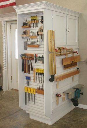 【DIY】ツール・工具の収納 アイデア集 #reuse #recycle 2/2 【DIYナビ・棚 材料 】 : DIYナビ