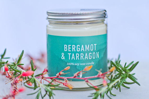 Need some rest and relaxation? Pour a bath, light this candle and let your worries float away. It will be just like a trip to the spa . . . only