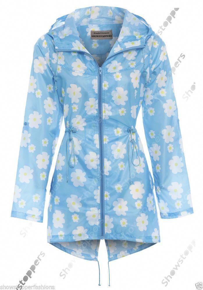 Size 14-16 Shower Coat Blue New