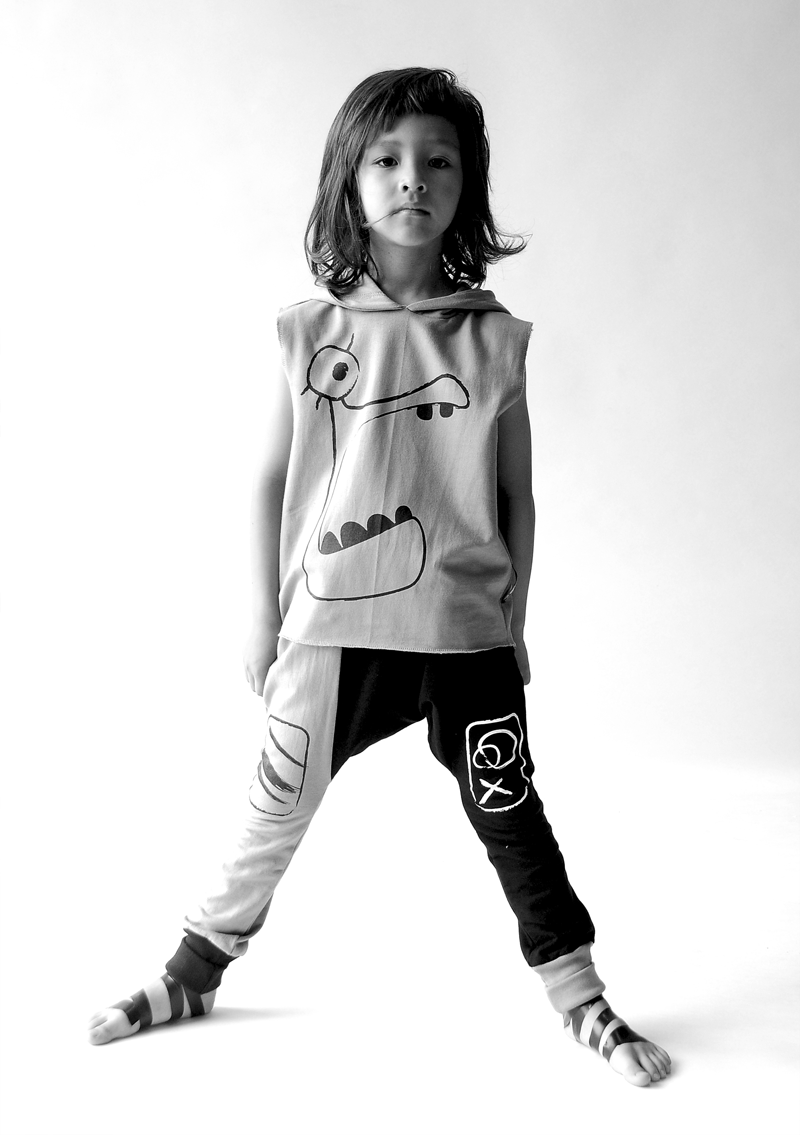 Free and Wild Child: LOUD APPAREL SS15 :: MONSTER'S ATTACK!