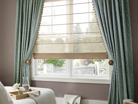 Sheer Roman Shades Google Search Houses Rooms And Things That I D Like To Go In Them Pinterest Custom Window Treatments Blinds