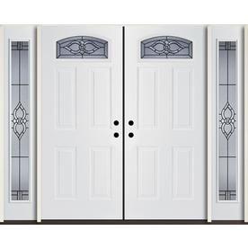 Unique 96 Fiberglass Entry Doors