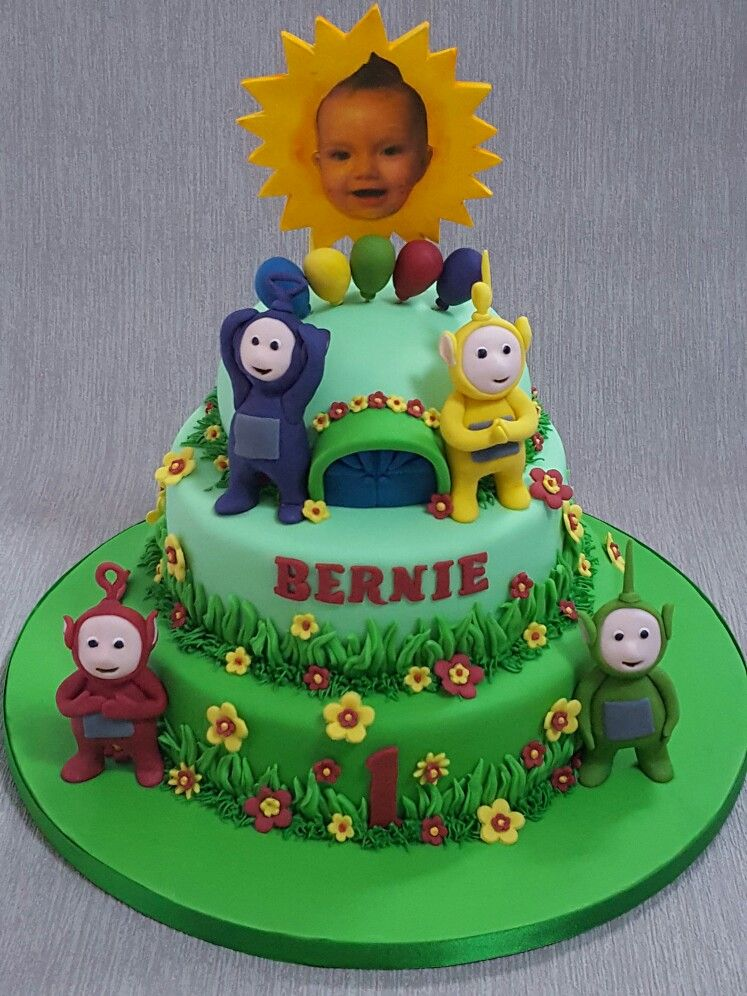 Teletubbies cake | Teletubbies cake, Teletubbies birthday ...