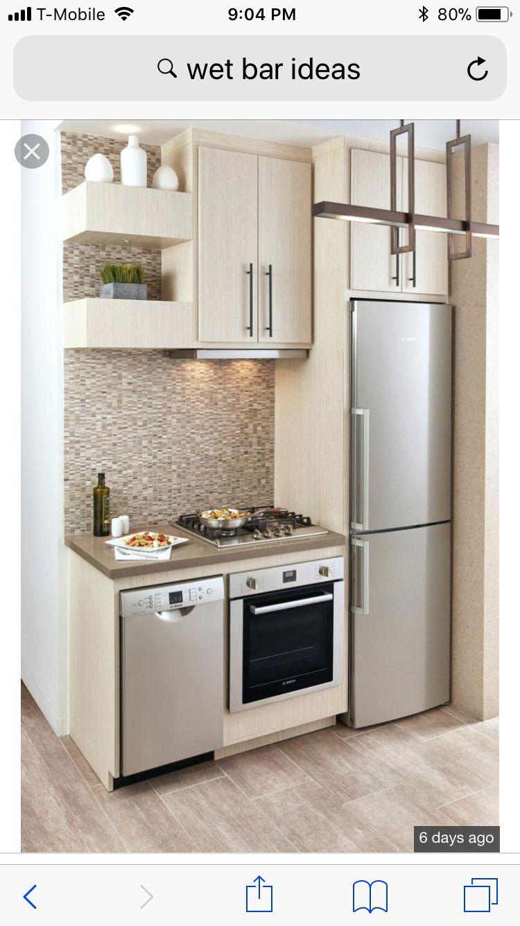 pindennis hines on wet bar  tiny house kitchen