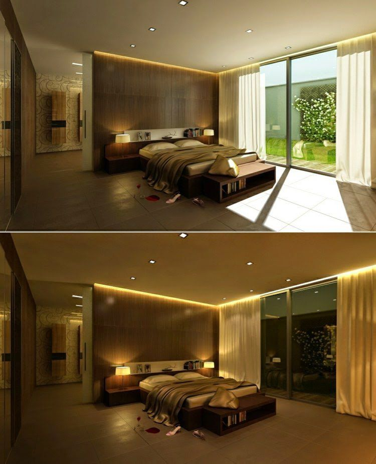 23 Inspiratonal Ideas Of Modern LED Lights For False ...