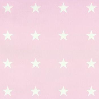 Esta Home Tapete Sterne rosa\/weiss bei Fantasyroom online kaufen - babyzimmer sterne photo