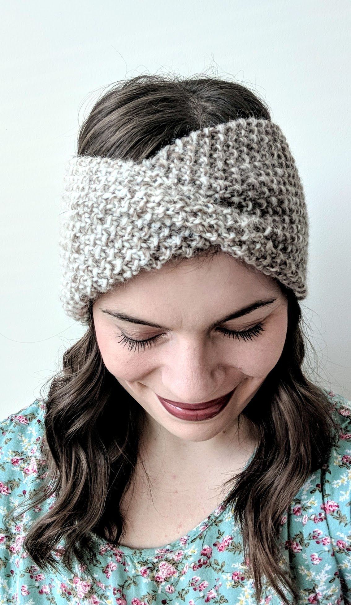 Free Knitting Pattern: Mobius Headband | Knit headband ...