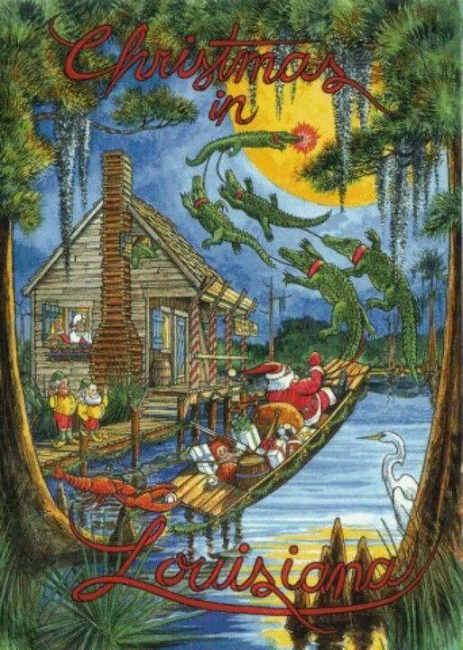christmas on the bayou love louisiana - Christmas On The Bayou