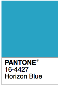 Horizon Blue Vintage Colour Palette Colors September Color Of The Day
