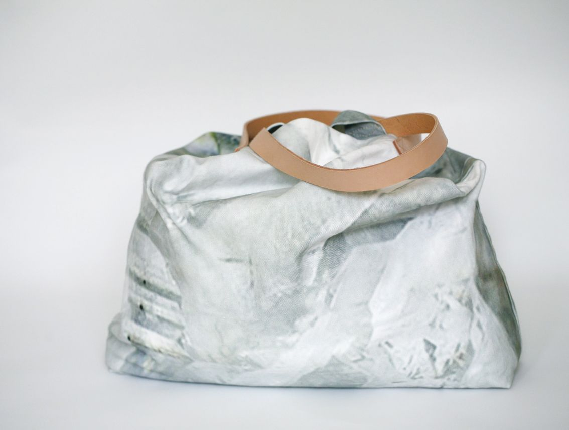 B+F / Quartz Bag / Digitally Printed Cotton Canvas / Made in Portugal