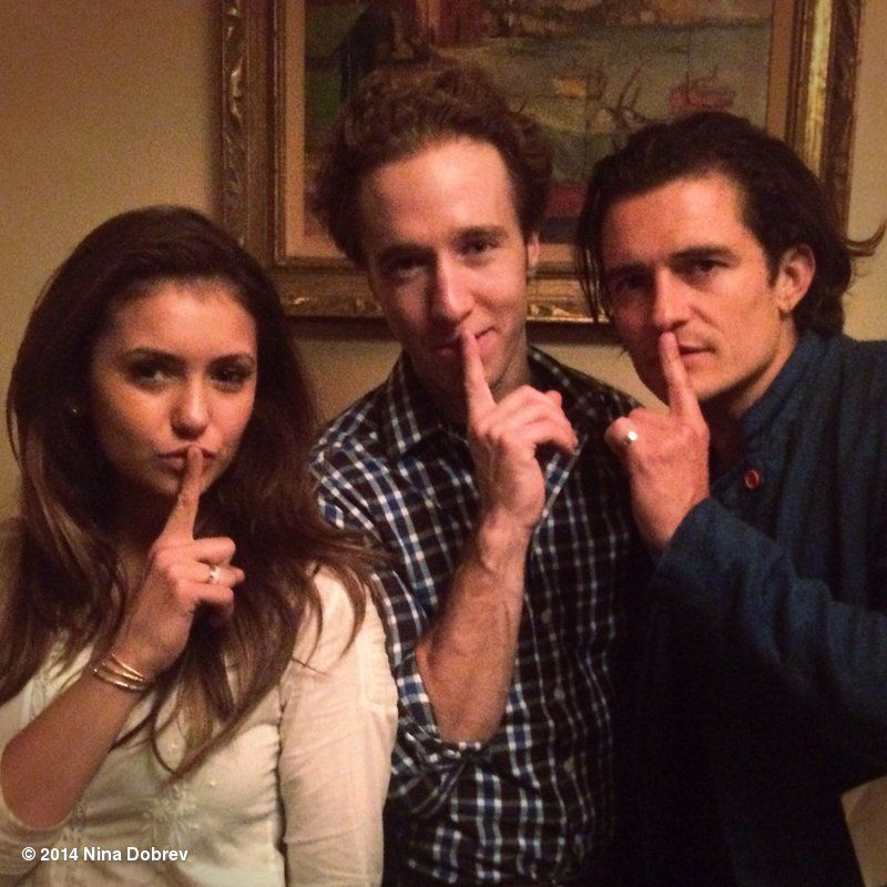 #OrlandoBloom & I stand w/ @CraigKielburger -going silent for those with no voice. Share your #WeAreSilent pic!