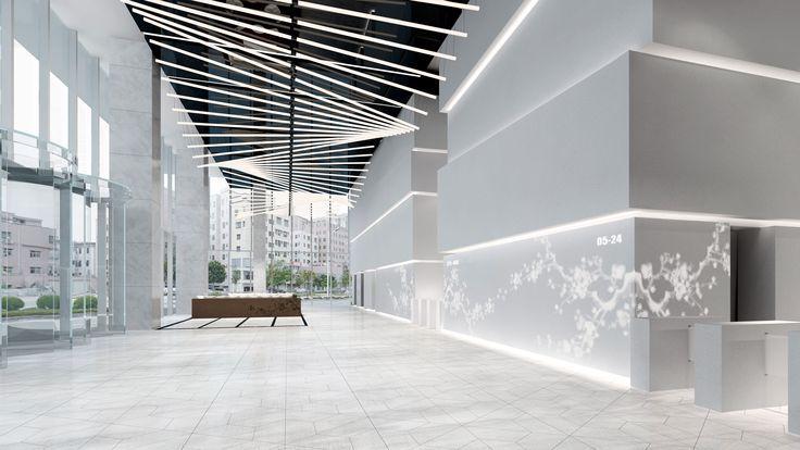 gray lobby - Google Search   Interior Architecture   Lobby ...