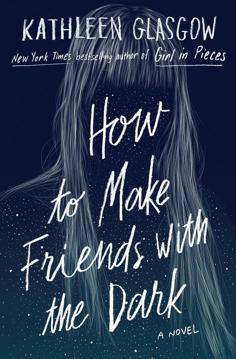 How to Make Friends with The Dark by Kathleen Glasgow. This book is a beautiful, raw discussion on being in the dark. Sometimes you're feeling around for a light switch and sometimes you're circling the black hole. Sometimes you find yourself believing in miracles and make friends with the dark.#Books #BookReview #Blogger #BookBlogger #KathleenGlasgow #HowToMakeFriendsWithTheDark